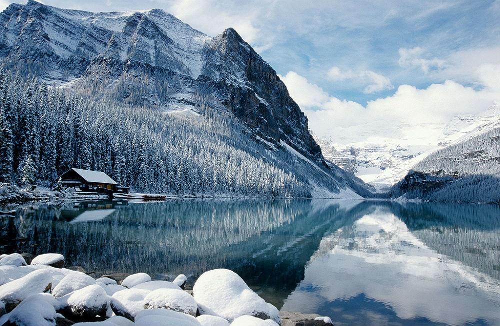 Фото: Горнолыжный курорт Lake Louise