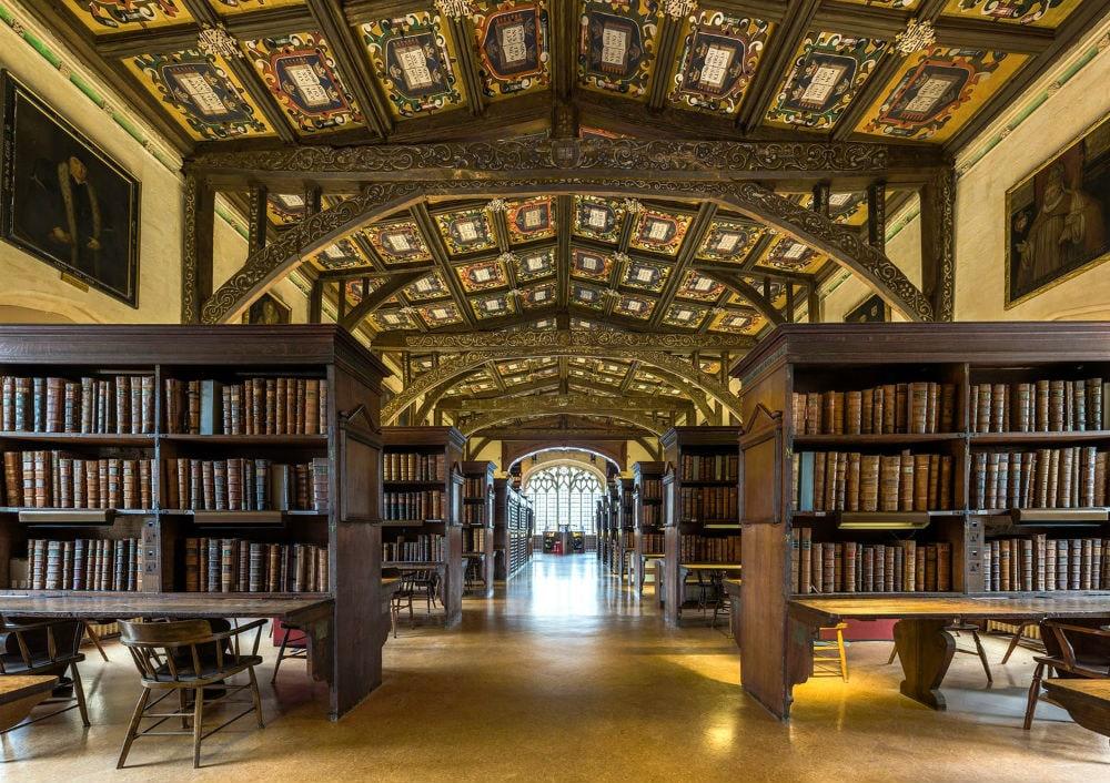 Фото: Средневековая Бодлианская библиотека