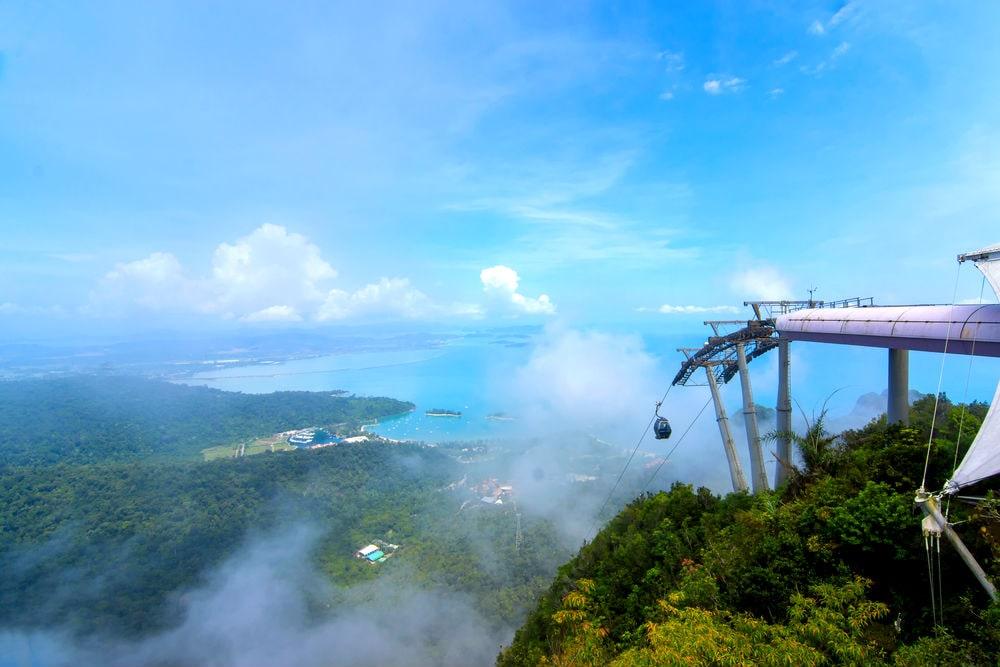 Фото: Канатная дорога на острове Лангкави