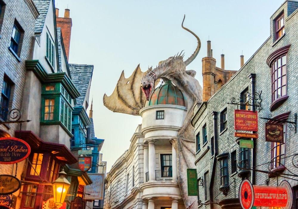 Фото: Волшебный мир Гарри Поттера