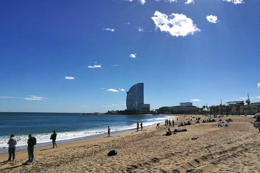 Фото: Пляж Барселонета
