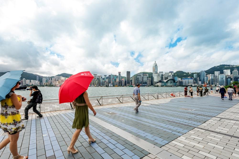Фото: Набережная Гонконга