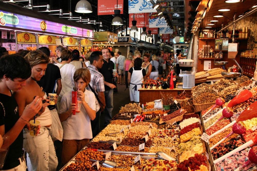 Фото: Рынок La Boqueria