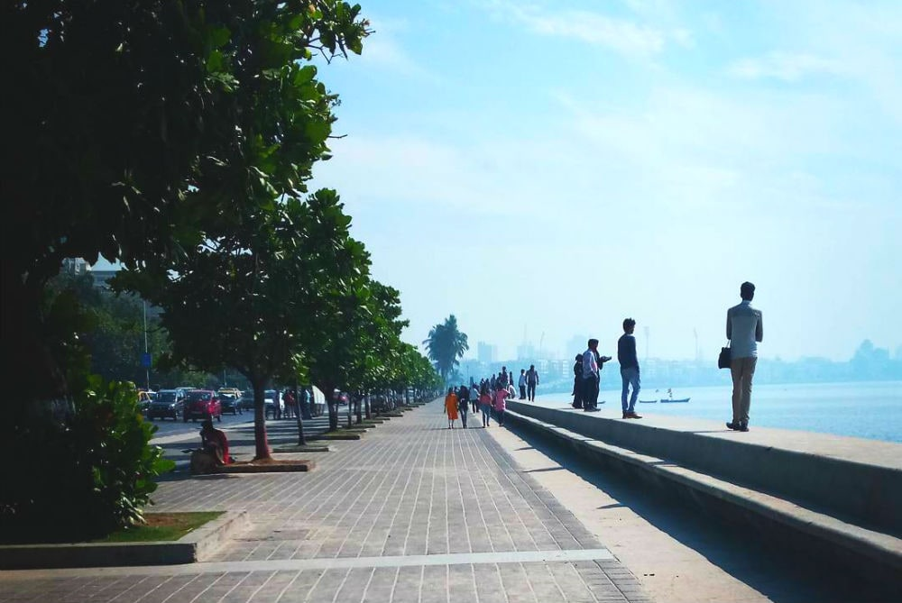 Фото: Марин-драйв, Мумбаи