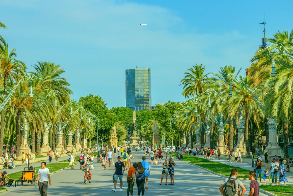 Фото: Парк Parc de la Ciutadella