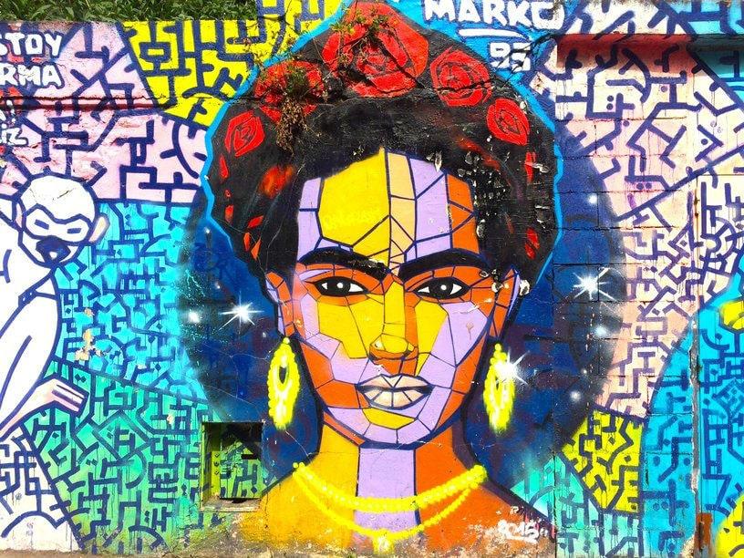 Фото: Проект Street Art Avenue в 19 районе Парижа