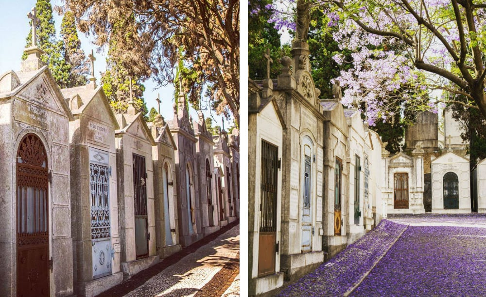 Фото: Кладбище Cemitério dos Prazeres