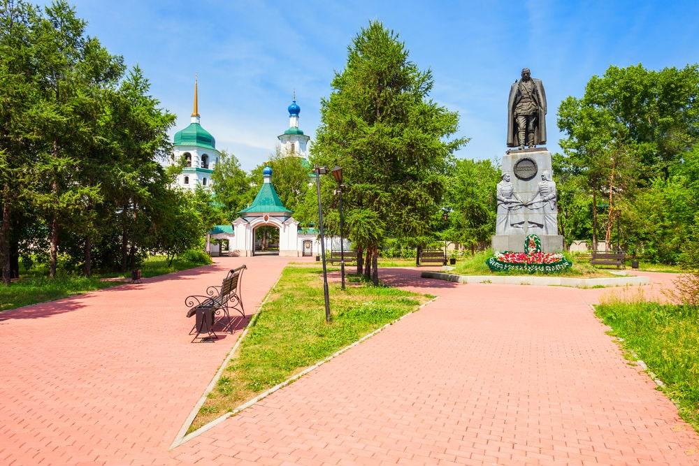 Фото: Памятник адмиралу Александру Колчаку