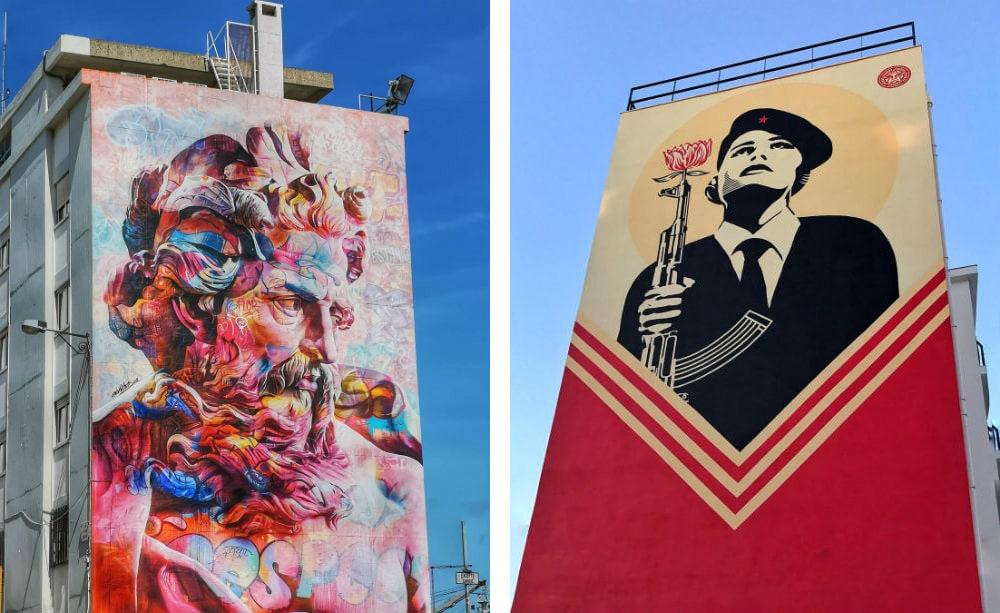 Фото: Стрит-арт в Лиссабоне
