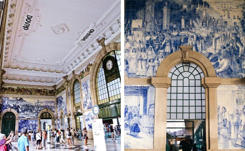 Фото: Вокзал Сан-Бенту