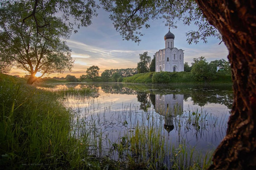 Photo: Church of the Intercession on the Nerl