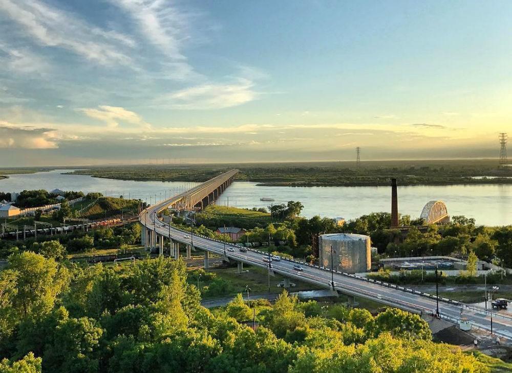 Фото: Хабаровский мост