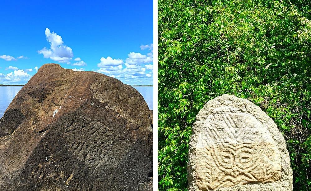 Photo: Petroglyphs of Sikachi-Alyan