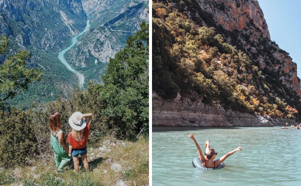 Фото: Ущелье Вердон Отдых Франция 10 природных чудес Франции: охряной каньон, меловые скалы и парк вулканов gorge du verdon