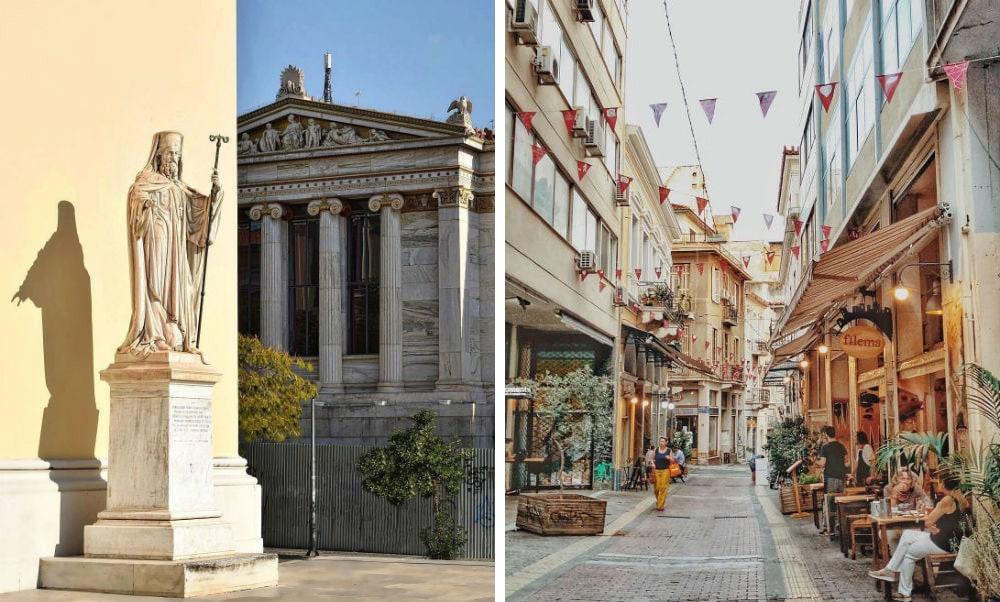 Фото: Афины Гид по  Афинам Гид по бесплатным Афинам: древние руины, смотровые площадки и экскурсии от местных жителей athens 7