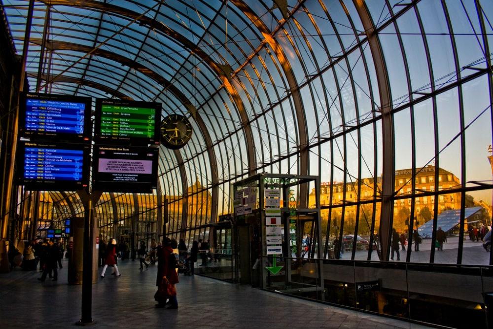 Фото: Gare de Strasbourg 10 самых красивых железнодорожных вокзалов мира 10 самых красивых железнодорожных вокзалов мира gare de strasbourg 2