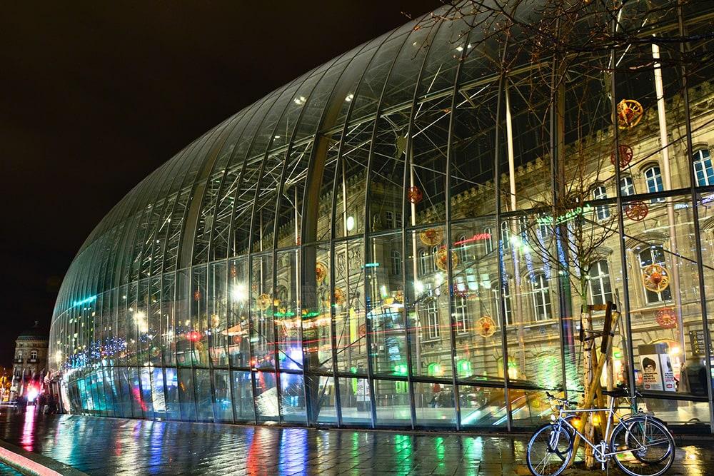 Фото: Gare de Strasbourg 10 самых красивых железнодорожных вокзалов мира 10 самых красивых железнодорожных вокзалов мира gare de strasbourg