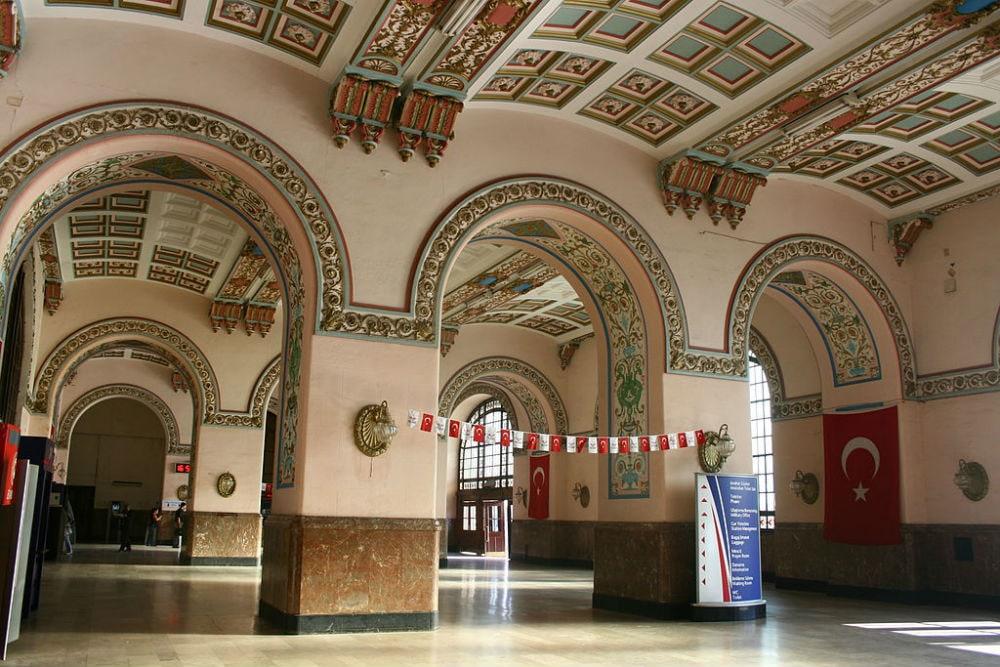 Фото: Haydarpasa Gari 10 самых красивых железнодорожных вокзалов мира 10 самых красивых железнодорожных вокзалов мира haydarpasa 2