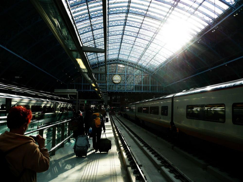 Фото: St. Pancras International 10 самых красивых железнодорожных вокзалов мира 10 самых красивых железнодорожных вокзалов мира st pancras international 2