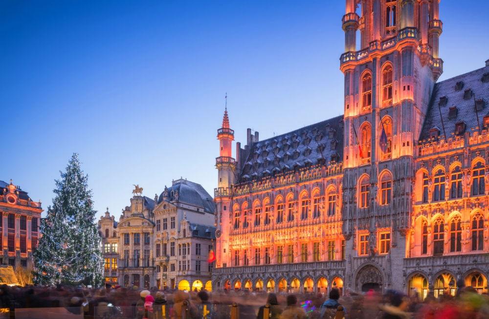 Фото: Ёлка в Брюсселе