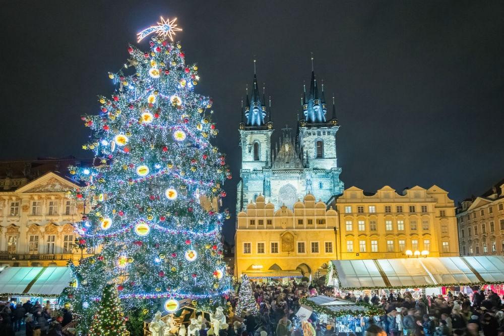 Фото: Елка в Праге