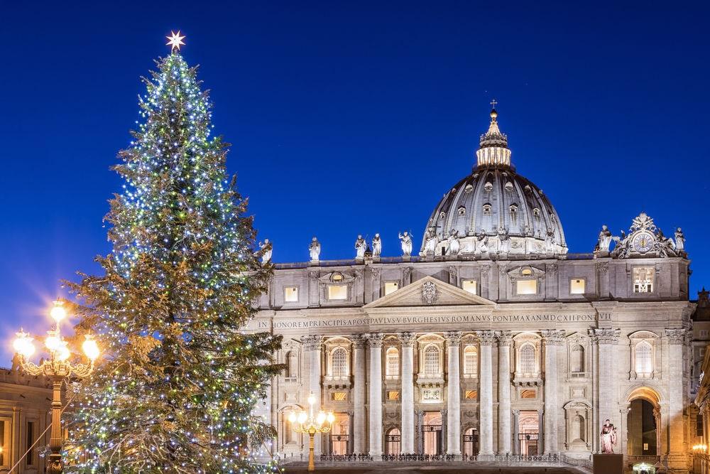 Фото: Елка в Ватикане