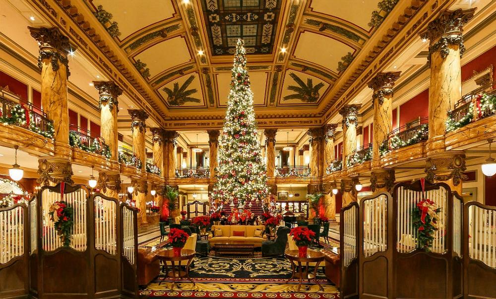 10 отелей, которые под Новый год превращаются в сказку 10 отелей, которые под Новый год превращаются в сказку jefferson hotel 2
