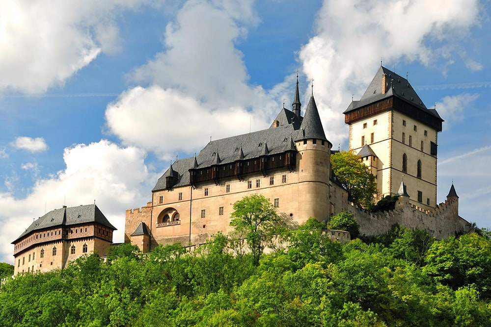 Фото: Замок Карлштейн