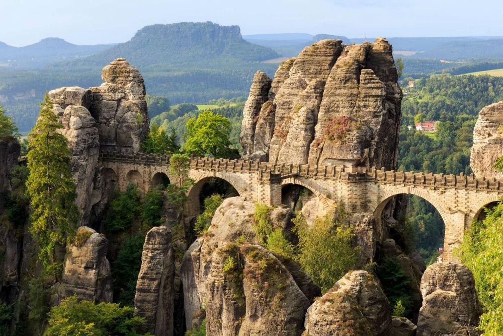 Фото: Мост Бастай германия 10 завораживающих мест в Германии, о которых мало кто знает bridge bastei