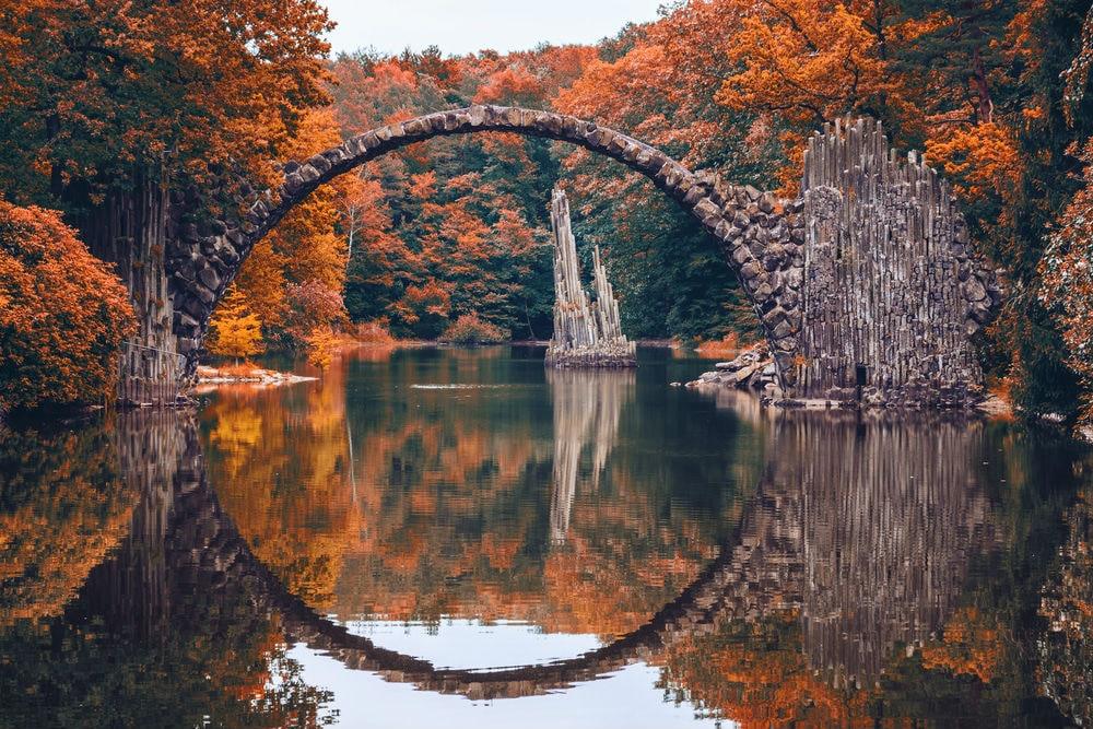 Фото: Парк Кромлау германия 10 завораживающих мест в Германии, о которых мало кто знает kromlau park