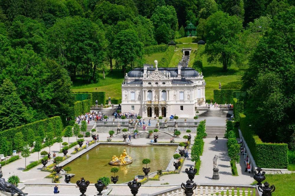 Фото: Замок Линдерхоф германия 10 завораживающих мест в Германии, о которых мало кто знает linderhof castle