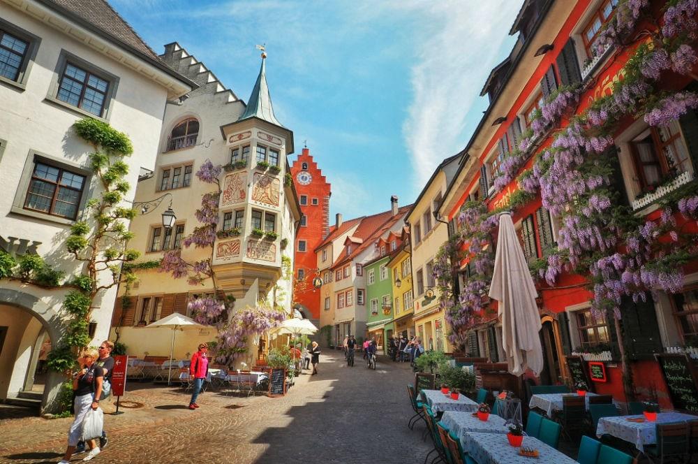 Фото: Город Меерсбург германия 10 завораживающих мест в Германии, о которых мало кто знает meersburg
