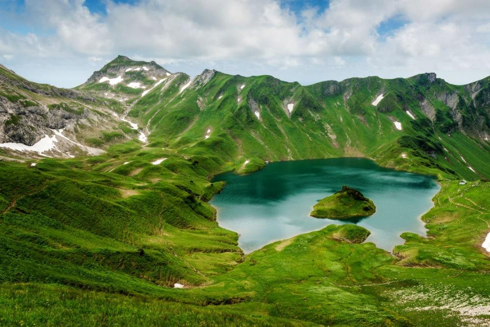 Фото: Озеро Шрек германия 10 завораживающих мест в Германии, о которых мало кто знает schrecksee 1