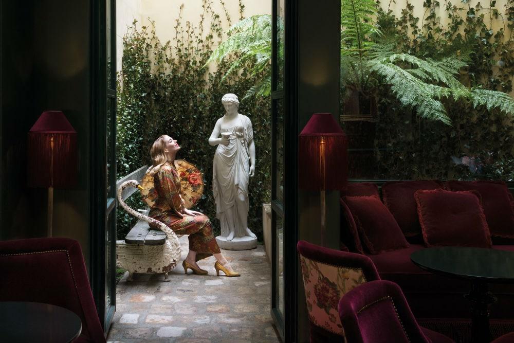 Фото: Maison Souquet 10 самых романтичных отелей мира И пусть весь мир подождёт: 10 самых романтичных отелей мира maison souquet