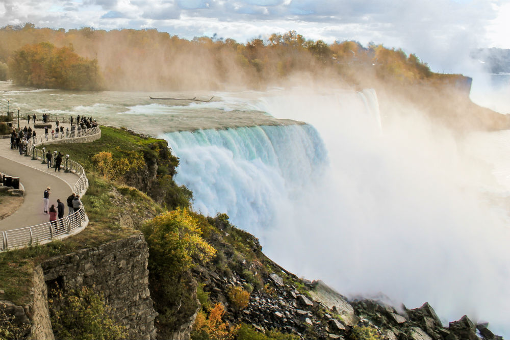 Фото: Ниагарский водопад