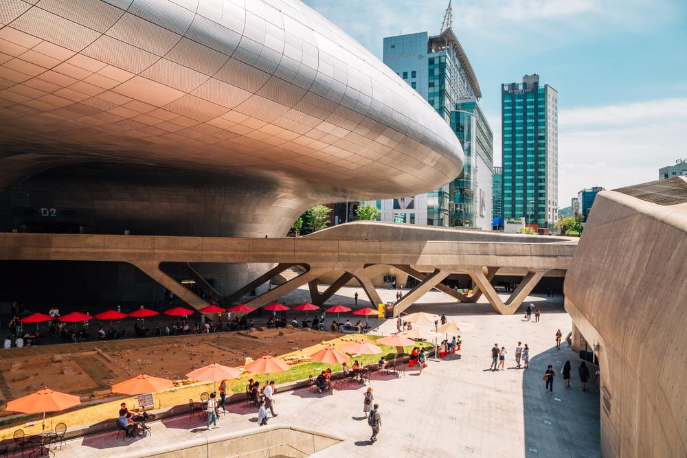 Фото: Dongdaemun Design Plaza