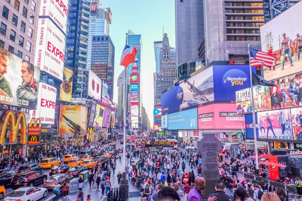 Фото: Таймс-Сквер