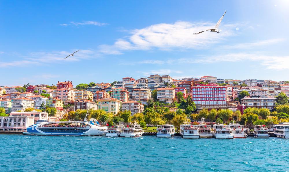 Фото: Азиатская сторона Стамбула