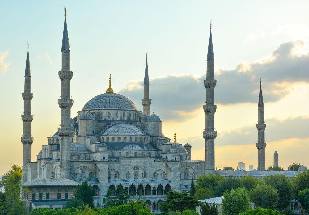Фото: Голубая мечеть