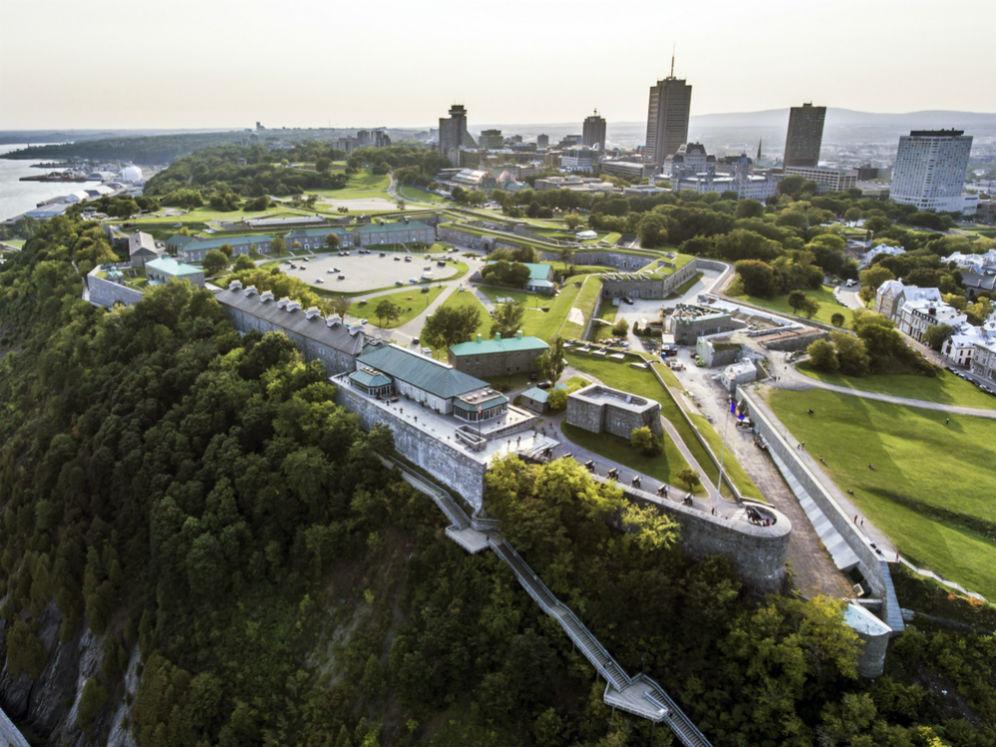 Фото: Квебекская крепость