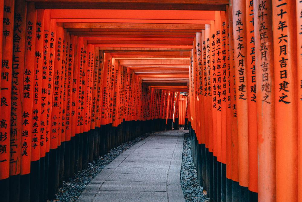 Фото: Святилище Фусими Инари