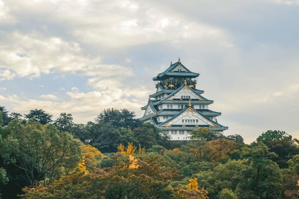 Фото: Замок в Осаке