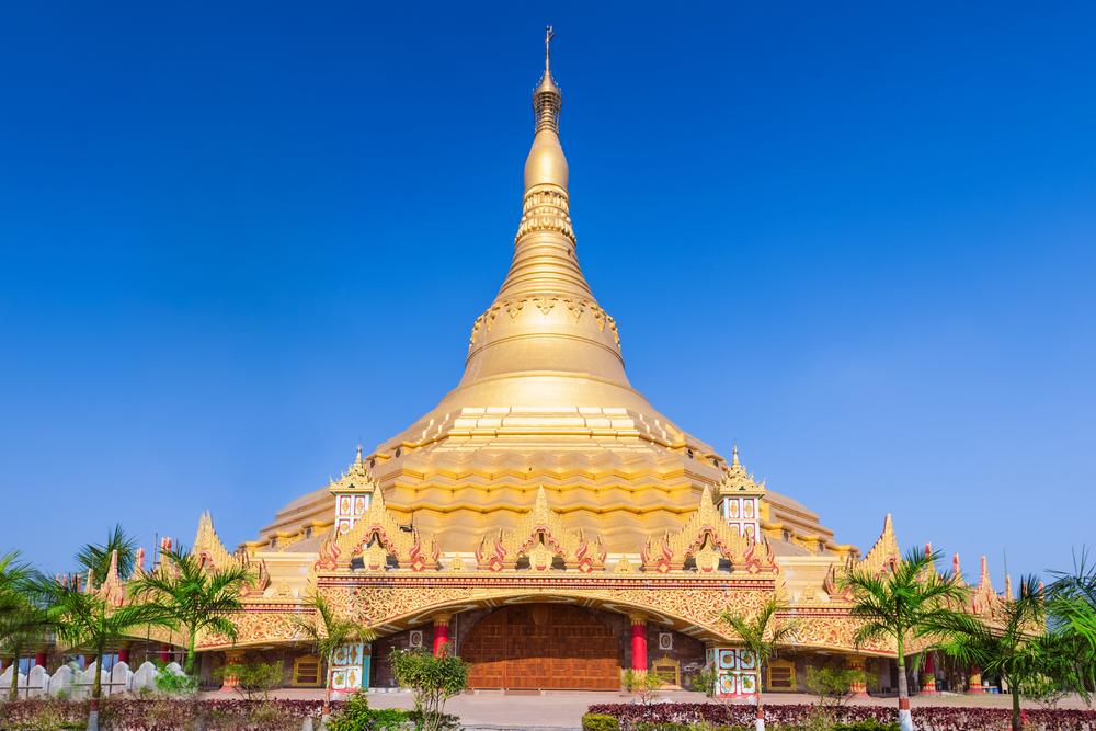 Фото: Пагода мировой випассаны