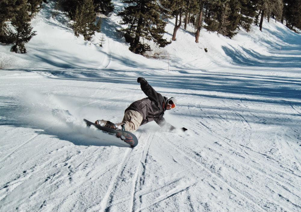 Фото: Сноубордист