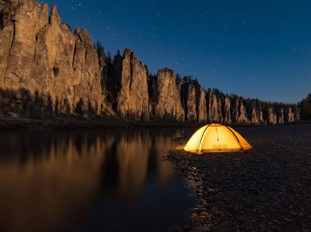 Фото: Река Лена
